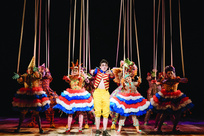 Joe Idris-Roberts in Pinocchio. Photo: Manuel Harlan