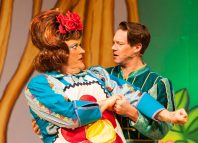 Scene from Sleeping Beauty at the Central Theatre, Chatham