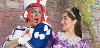 James Holmes and Jessica Revell in Sleeping Beauty at Buxton Opera House
