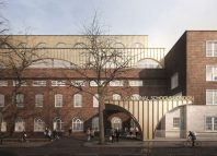 Artist's impression of the redeveloped Arts Educational Schools