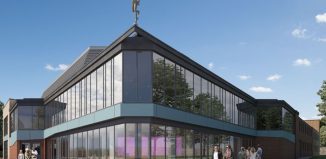 An artist's impression of the revamped Mercury theatre, Colchester