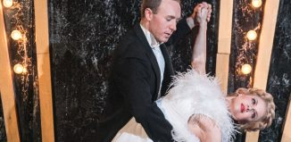 Joshua Lay and Joanne Clifton in Top Hat at Upstairs at the Getehouse