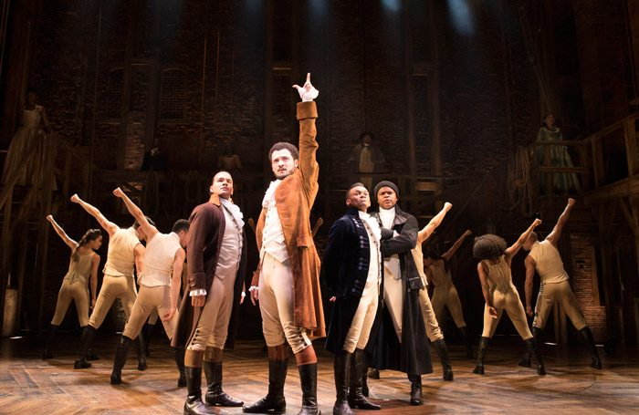 Stars out for West End launch of hip hop musical Hamilton