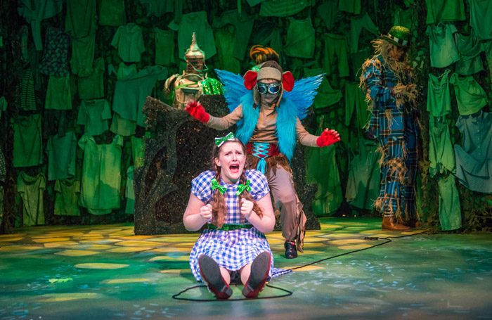 Freya Mawhinney in The Wizard of Oz at Georgian Theatre Royal, Richmond
