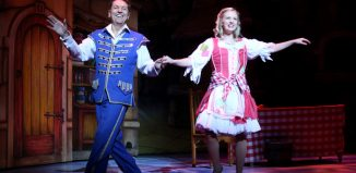 Brian Conley and Lauren Hall in Cinderella at Milton Keynes Theatre