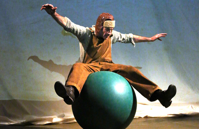 Martin Oelbermann in The Little Prince at the Playground Theatre, London