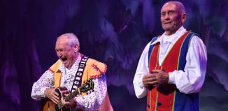 Bobby Ball and tommy Cannon in Show White and the Seven Dwarfs at Lyceum Theatre, Crewe. Photo: Wes Webster