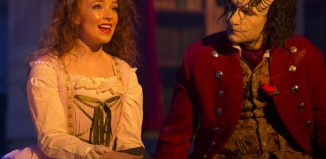 Kirsty-Anne Shaw in Beauty and the Beast at New Theatre, Portsmouth