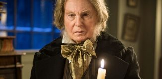 Derek Jacobi in A Christmas Carol Goes Wrong on BBC1. Photo: James Stack