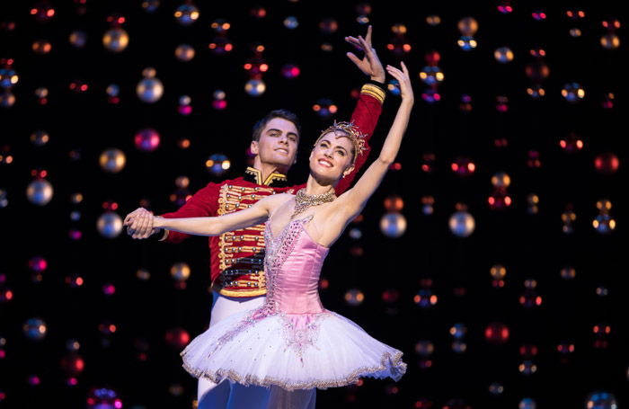 Evan Louden and Bethany Kingsley-Garner in The Nutcracker at Festival Theatre, Edinburgh