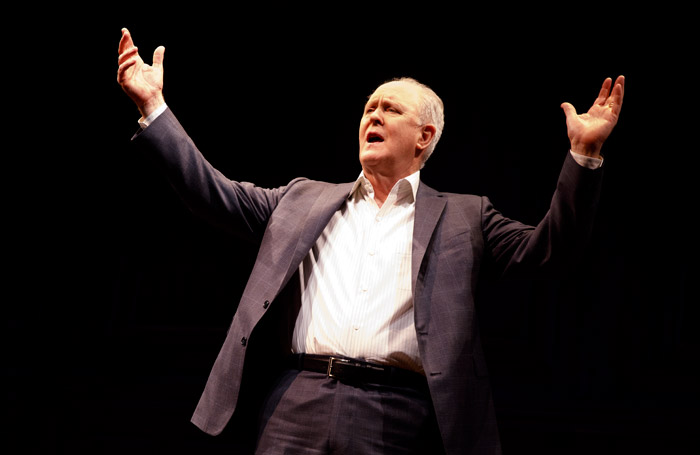 John Lithgow: Stories by Heart on Broadway. Photo: Joan Marcus