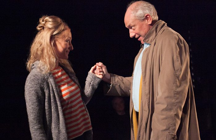 Joanna Bending and Rupert Wickham in Imaginationship at Finborough Theatre, London. Photo: Phil Gammon