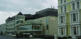 Venue Cymru, where drunk audience members disrupted performances of The Full Monty. Photo: Chris Andrews