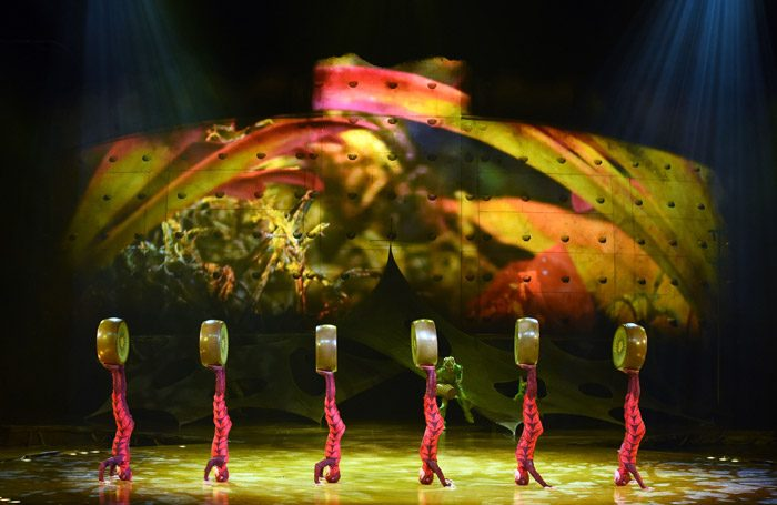 Cirque du Soleil's Ovo at the Royal Albert Hall, London