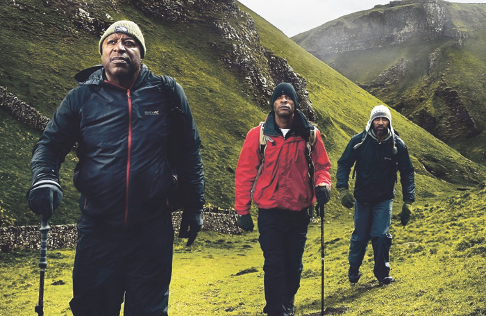 Black Men Walking publicity image