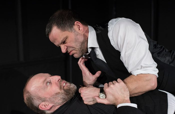 David Sayers and Brian Merry in This Story of Yours at White Bear Theatre, London. Photo: Lesley Cook
