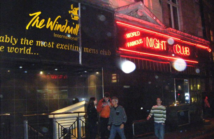 The Windmill Theatre in Soho, London