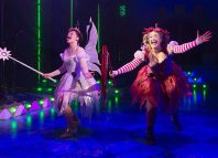 Scene from Sleeping Beauty at Theatr Clwyd, Mold. Photo: Brian Roberts.
