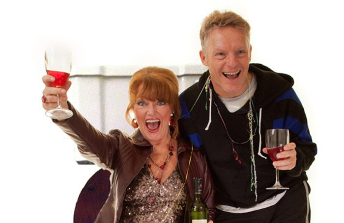 Louise Jameson and Nigel Fairs in My Gay Best Friend at the Hope Theatre, London