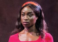Adele Oni in Picasso review at the Playground Theatre. Photo: Tristram Kenton