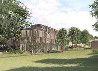 Artist impression of Tring Park School for the Performing Arts' new building