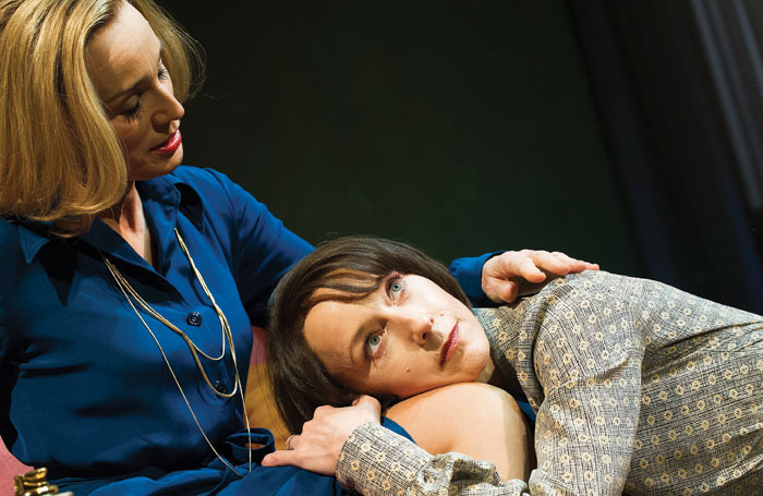 Kristin Scott Thomas and Lia Williams in Old Times in 2013. Photo: Tristram Kenton