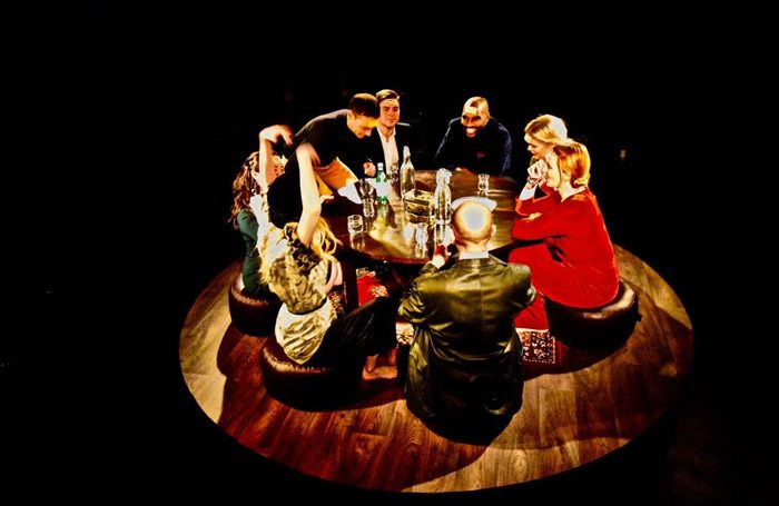 The cast of Alice at Landor Space, London
