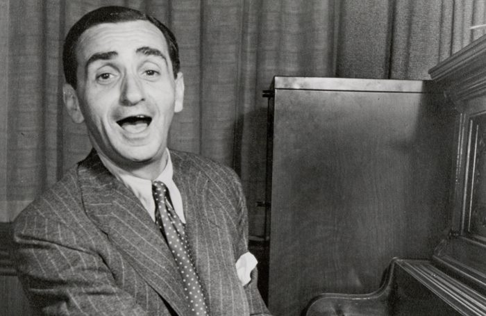 Irving Berlin at the piano. Photo: The Irving Berlin Music Company