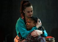 Faye Maughan and LaTanya Peterkin in Fear and Misery of the Third Reich. Photo James Wordsworth