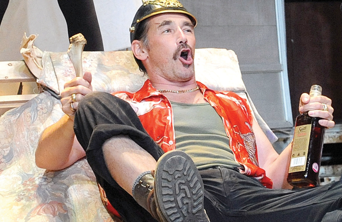 "How can any new production of Jerusalem live up to the memory of Mark Rylance as ""Rooster"" Byron? Photo: Tristram Kenton"