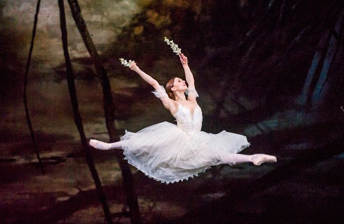 Marianela Nunez in Giselle at Royal Opera House, London. Photo: Tristram Kenton