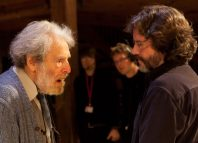 John Barton with Royal Shakespeare Company artistic director Gregory Doran in 2010. Photo: Stewart Hemley