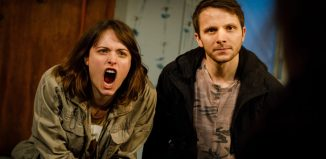 The War Has Not Yet Started at Southwark Playhouse, London. Photo: Steve Tanner