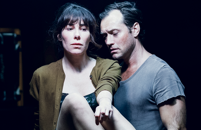 Ivo van Hove's Obsession, starring Halina Reijn and Jude Law, at the Holland Festival. Photo: Jan Versweyveld