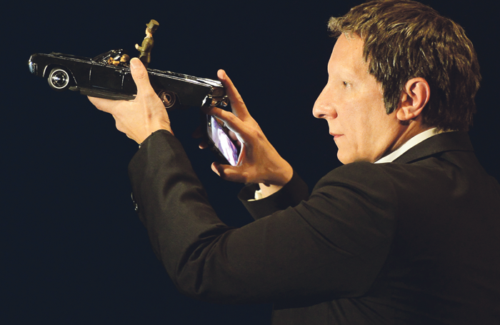 Robert Lepage's 887 at the Holland Festival. Photo: Erick Labbe