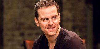 Andrew Scott as Hamlet in the Almeida production. Credit: Manuel Harlan