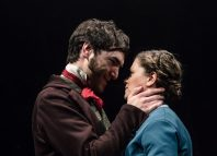 Michael Peavoy and Jessica Baglow in Jane Eyre at Octagon, Bolton, Photo: Richard Davenport