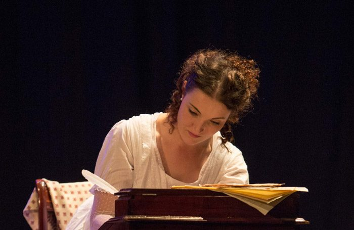 Edith Kirkson in Austen the Musical at Mirth, Marvel and Maud, London