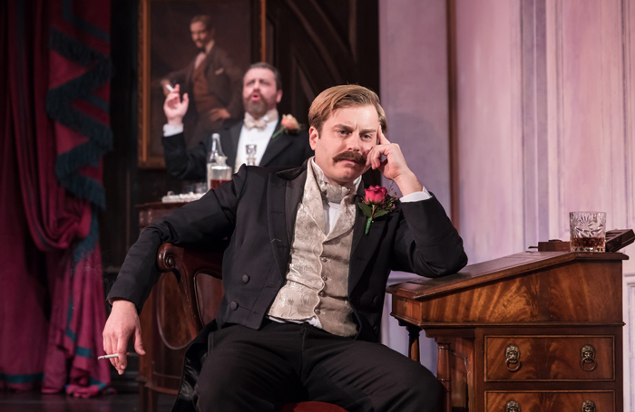 Kevin Bishop as Lord Darlington. Photo: Marc Brenner