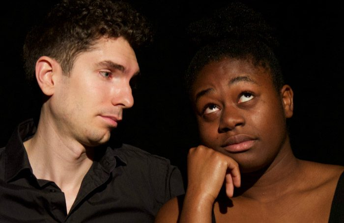 PJ Stanley and Nicole Acquah in For a Black Girl at Vault Festival