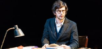 Ben Whishaw in Julius Caesar at the Bridge Theatre, London. Photo: Manuel Harlan