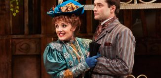 Kerry Ellis and Peter Sandys-Clarke in The Importance of Being Earnest. Photo: The Other Richard