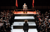 David Calder in Julius Caesar at the Bridge Theatre. Photo: Manuel Harlan