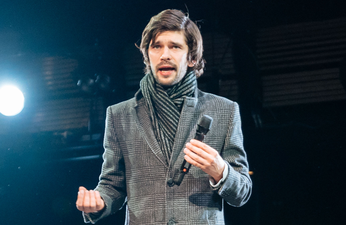 Ben Whishaw in Julius Caesar. Photo: Manuel Harlan