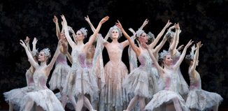 The company of Birmingham Royal Ballet's Sleeping Beauty