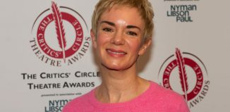 Victoria Hamilton at the Critics' Circle Theatre Awards. Photo: Peter Jones