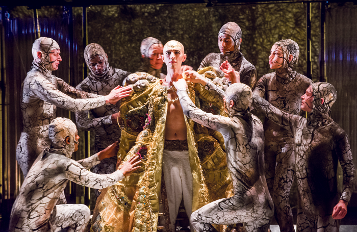 Phelim McDermott's Olivier-winning production of Akhnaten (2016) for English National Opera. Photo: Tristram Kenton