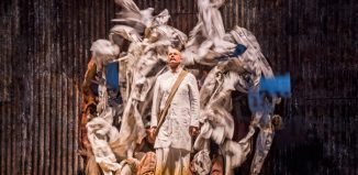 Toby Spence in Satyagraha at London Coliseum. Photo: Tristram Kenton