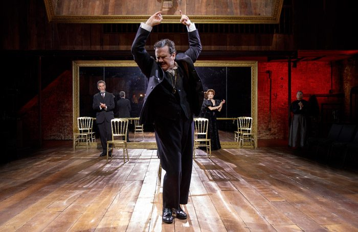 Douglas Hodge stars in Fire and Air at Classic Stage Company, New York. Photo: Joan Marcus