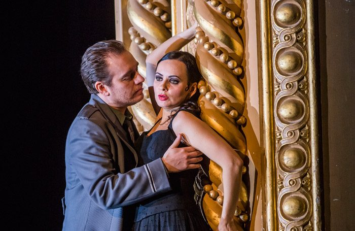 Anna Goryachova and Francesco Meli in Carmen at Royal Opera House, London. Photo: Tristram Kenton